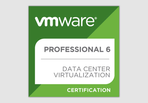 Martin Gilch ist VMware Certified Professional 6 – Data Center Virtualization